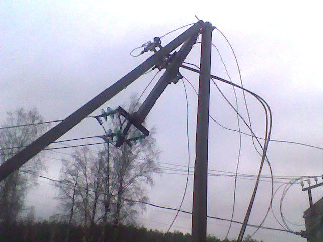 авария на ул электриков: